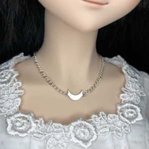 DD Crescent Moon Necklace