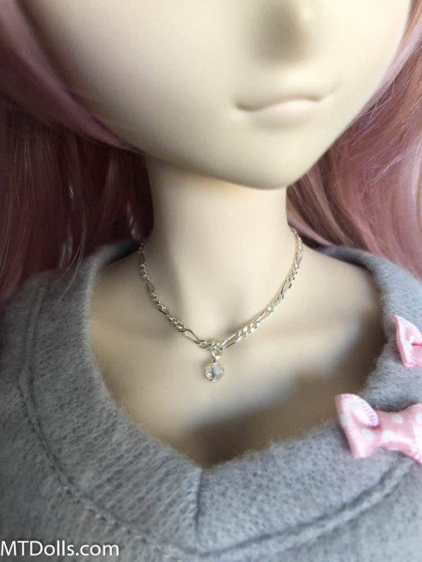 Dollfie Dream Jewel Drop Necklace in Crystal Clear