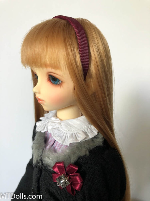 MSD BJD Headband in Bordeaux