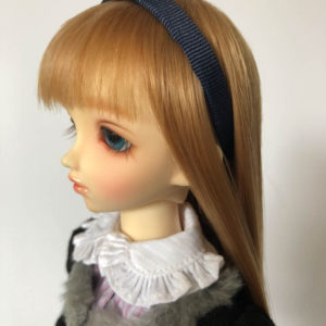 MSD BJD Headband in Navy Blue