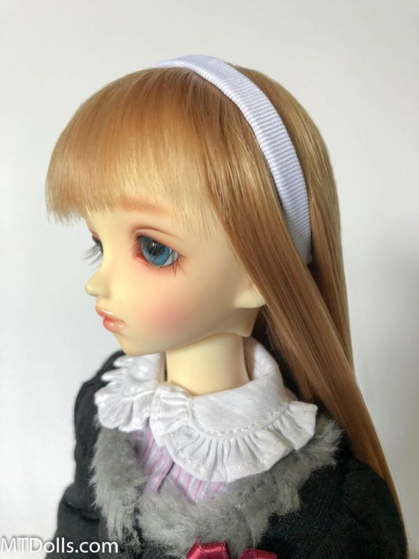 MSD BJD Headband in White