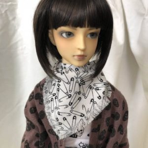 Safety Pin Scarf / Muffler for SD SD13 SD17 BJD