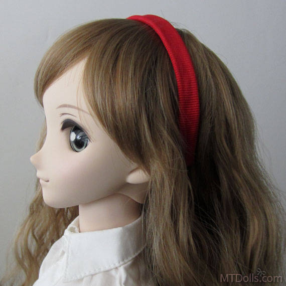 SD DD BJD Headband in Red