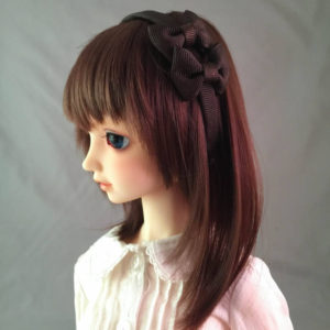 SD/DD Double Bow Headband in Brown