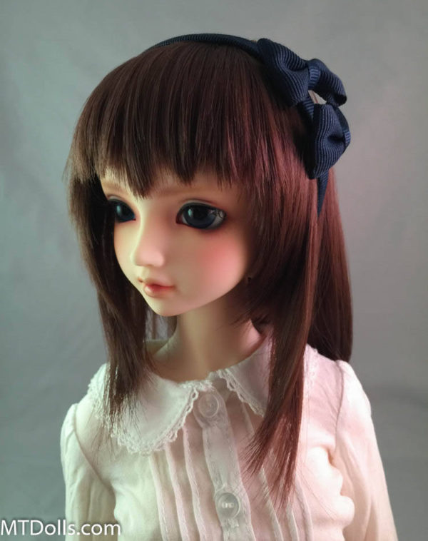 SD/DD Double Bow Headband in Navy Blue