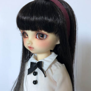 YoSD BJD Headband in Bordeaux
