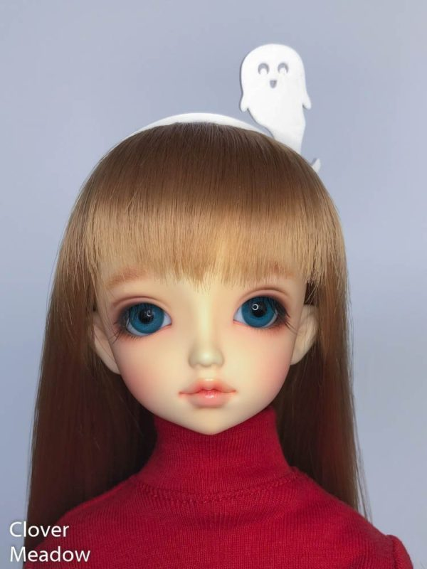 MSD BJD Ghost Headband in White
