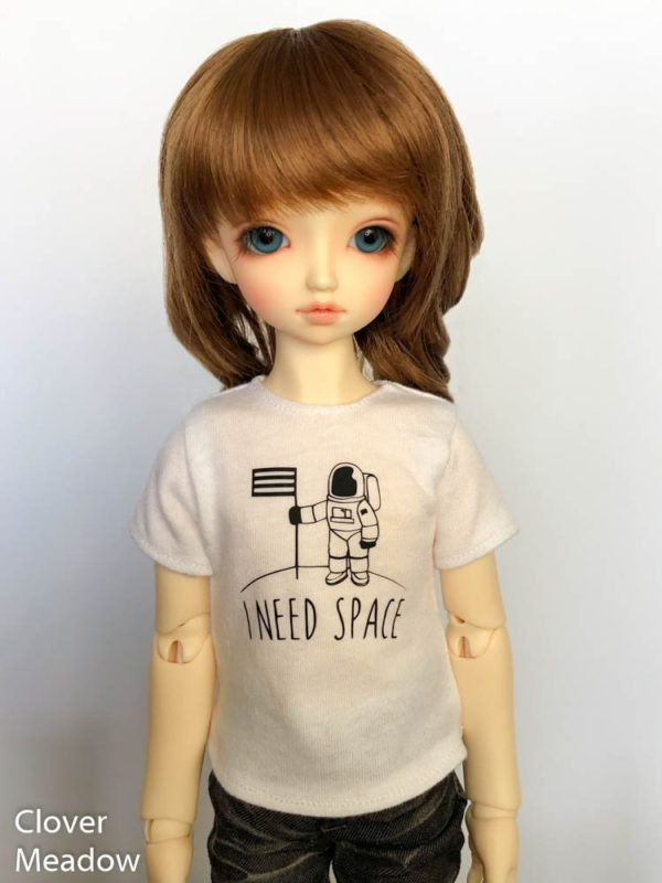 MSD tshirt I Need Space BJD SDC