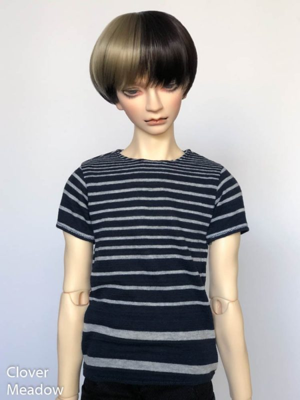 SD17 tshirt Blue Stripes BJD SuperGem EID