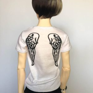 SD17 tshirt Wings BJD SuperGem EID