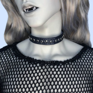 BJD Choker with Studs SD13 SD17 Faux Leather Collar