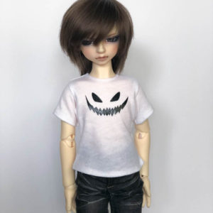 MSD tshirt Scary Spooky Face BJD SDC