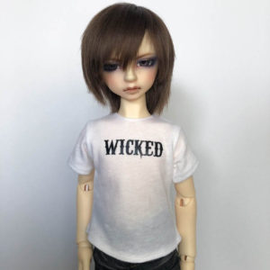 MSD tshirt Wicked BJD SDC