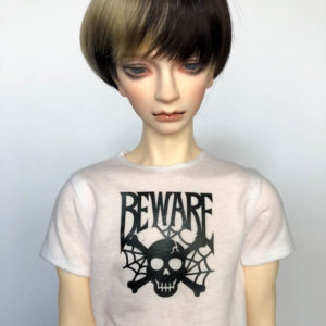 SD17 tshirt Beware Skull BJD SuperGem EID