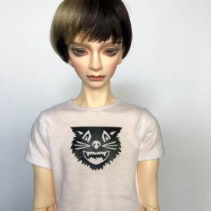 SD17 tshirt Black Cat BJD SuperGem EID