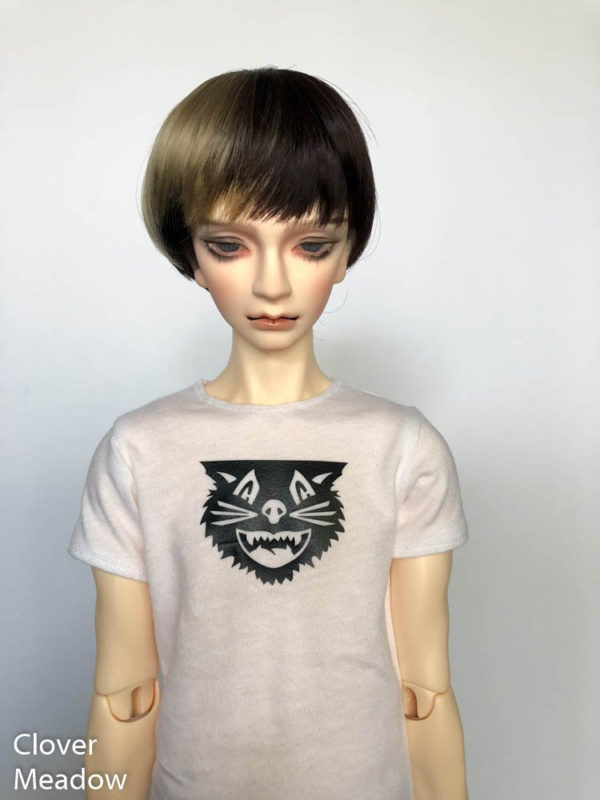 SD17 tshirt Black Cat BJD SuperGem EID
