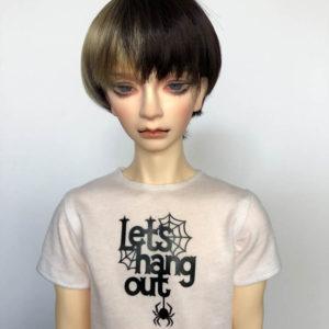 SD17 tshirt Lets Hang Out Spider BJD SuperGem EID