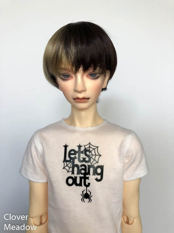 SD17 tshirt Lets Hang Out Spider BJD SuperGem EID