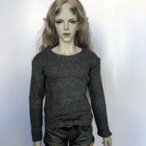 SID sweater shirt Grey Long Sleeve BJD Iplehouse