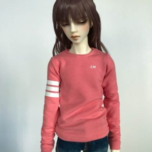 65cm 3 Stripe Sweatshirt long sleeve shirt BJD SD17