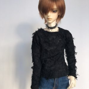 65cm Fuzzy Sweater shirt long sleeve distressed BJD SuperGem SD17