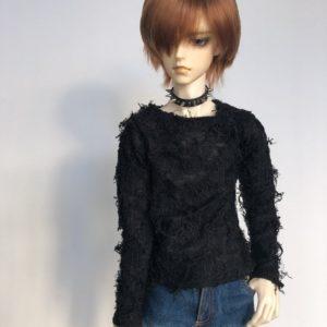 65cm Fuzzy Sweater shirt long sleeve distressed BJD SuperGem SD17
