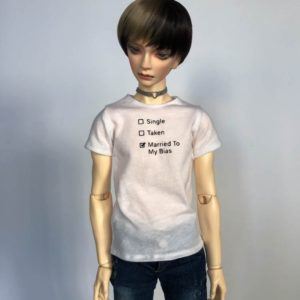 65cm tshirt Married To Bias BJD SD17 SuperGem