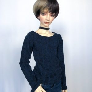 65cm Indigo Blue Sweater shirt long sleeve BJD SD17