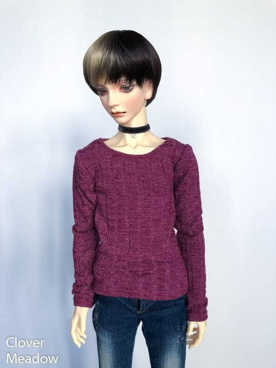 65cm Raspberry Sweater shirt long sleeve BJD SD17